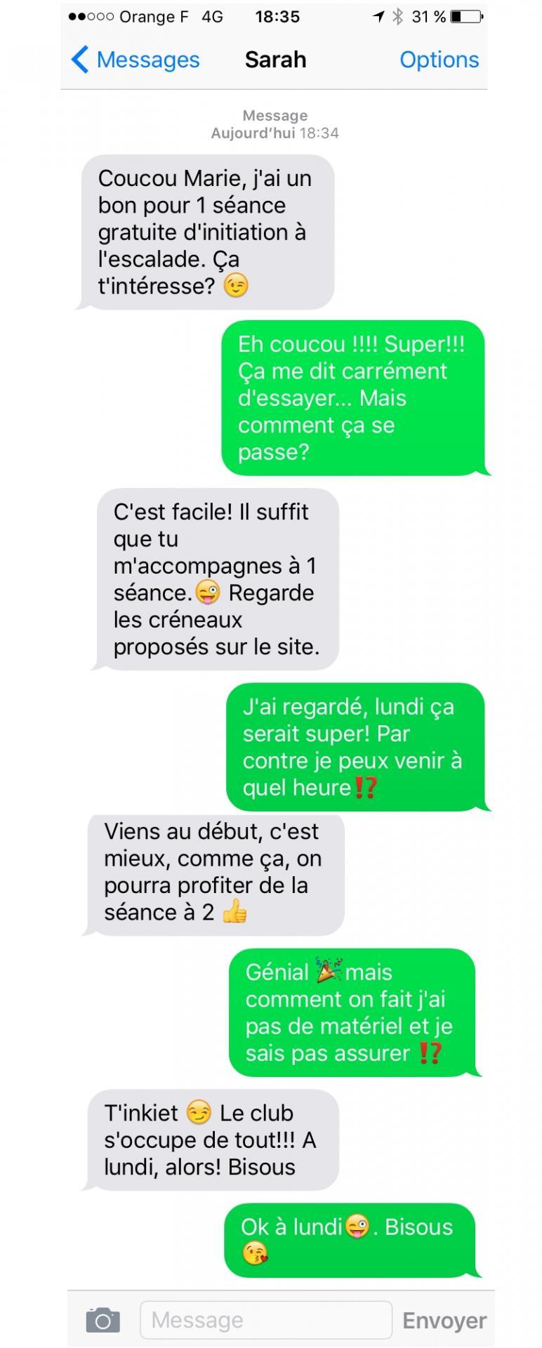 Conversation tel